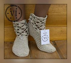 Made to order summer crocheted Ankle boots that I can make for you according to your personal measurements. Those comfortable lace spring – summer Ankle Boots are created by me using only the highest quality materials. Wedge sole is made of lightweight flexible and resistant rubber that