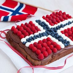 Sweet Recipes, Cake Recipes, Norway Food, Norwegian Food, Norwegian Recipes, Scandinavian Food, 4th Of July Celebration, Seasonal Food, Good Enough To Eat