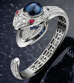 The History and Present Of High Jewelry and Fine Watchmaking For Ladies By Bulgari