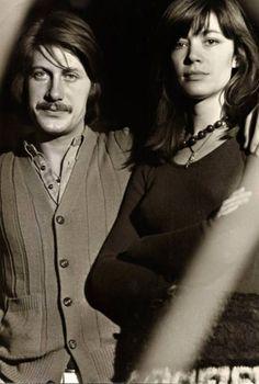 Françoise Hardy et Jacques Dutronc, 1973.
