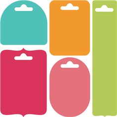 Silhouette Design Store: 5 hang tags