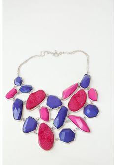 Purple Persuasion Necklace