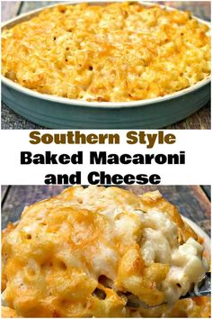 Southern-Style Baked Macaroni and Cheese is a homemade, soul food recipe with 5 creamy types of cheese. Perfect for Thanksgiving, Christmas, and holidays. This recipe makes the perfect side dish for the holidays. recipe soul food Baked macaroni and cheese Southern Macaroni And Cheese, Macaroni Cheese Recipes, Southern Style Mac And Cheese Recipe, Baked Mac And Cheese Recipe Soul Food, Macaroni And Cheese Casserole, Creamy Macaroni And Cheese, Macaroni Pasta, Pasta Bake, Best Thanksgiving Recipes