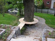 trädgård skogstomt -