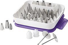 $28.00 Wilton 2104-0240 Master Decorating Tip Set - http://freebiefresh.com/wilton-2104-0240-master-decorating-tip-set-review/