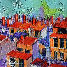 The Rooftops by Mona Edulesco