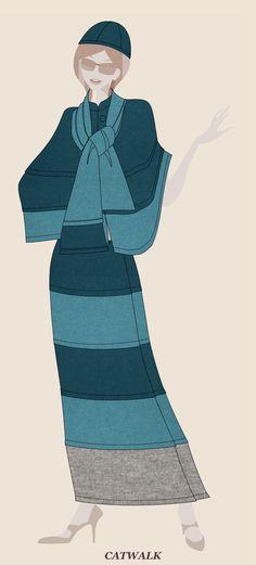 Cooler Look für den Herbst: Ein Beispiel (No 1 von über 300 Outfit-Möglichkeiten) aus 100% Schurwolle Walkloden mit Maxirock und Medi-Poncho, Schal mit ZIP, Kappe. Cooler Look, Cinderella, Disney Characters, Fictional Characters, Disney Princess, Outfit, Rock, Mini, Art