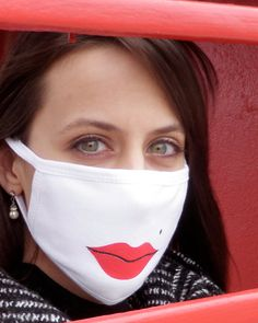 Fun Surgical Mask Lush Lips for DIY / Dust / by DanielMatlach, $7.99