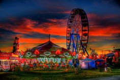 Marshfield Fair (MA)...My whole family went every year when I was a kid...Well everybody in Massachusetts did.