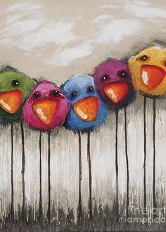 Bird Painting Acrylic, Bird Paintings On Canvas, Simple Oil Painting, Acrylic Painting For Beginners, Easy Canvas Painting, Simple Acrylic Paintings, Acrylic Painting Tutorials, Beginner Painting, Acrylic Canvas