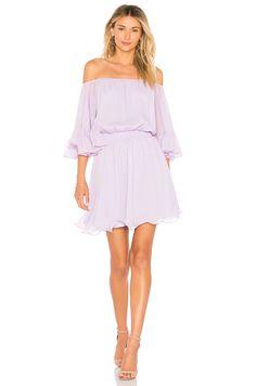 Endless Rose X REVOLVE Ruffle Mini Dress in Lilac | REVOLVE