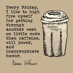 Sweatpants & Coffee on #Friday