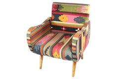 Kilim Accent Chair