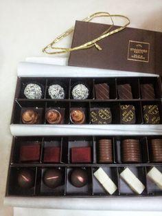 Google+  gourmet chocolates from Kimogi, a local Japanese bakery.