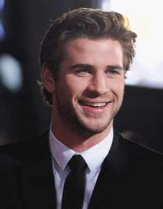 Liam Hemsworth is always ready for his closeup.