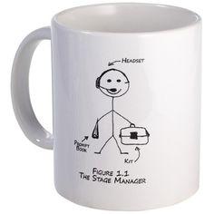 Stage Manager Mug Gift
