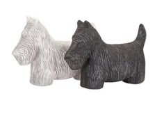 "Fetch Dog Statuaries - Ast 2 9""""h x 4.75""""w x 13.25"""""