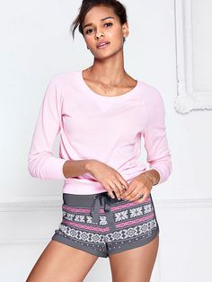 The Fireside Thermal Shortie - Victoria's Secret