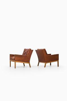 Kai Lyngfeldt Larsen easy chairs model 39 at Studio Schalling