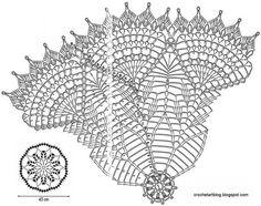 Схема к фото Crochet Art: Crochet Lace doily - Gorgeous White Lace doily Free Crochet Doily Patterns, Crochet Doily Diagram, Crochet Circles, Tatting Patterns, Crochet Art, Crochet Home, Thread Crochet, Knit Or Crochet, Filet Crochet