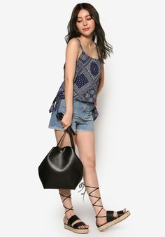 Paisley Runched Top
