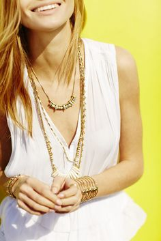 Summer 15! Wanderer and Zuni stacked looks amazing with the Becker cuff!  http://www.stelladot.com/sites/cnystrom