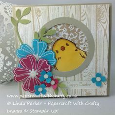 http://www.papercraftwithcrafty.co.uk/2016/03/honeycomb-happiness-easter-chick.html