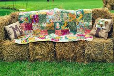 @Lyzi - can turn haybales into sofas after :)