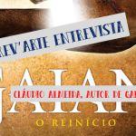 Escrev'Arte Entrevista – Cláudio Almeida, autor de Gaian