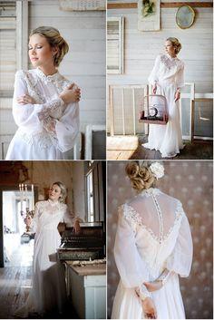 mama's wedding dress!