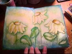 handmade art journal sept. 14, 2010 - YouTube