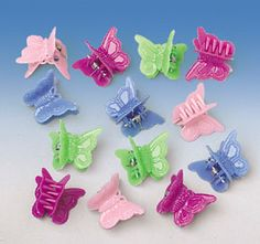 Butterfly hairclips. You know you had them.