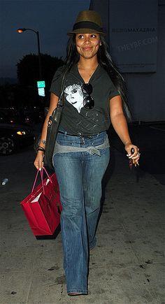 Lauren London Jeans Image Detail fo...