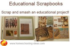 Educational learning scrapbooks!