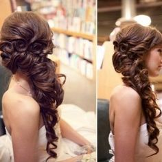 pretty pretty wish I could do my hair like this
