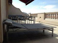 Malaga Zentrum Geräumige Wohnung 2bedroom mit exklusiven Terrasse WIFI Market, Zug, BusFerienhaus in Malaga von @homeaway! #vacation #rental #travel #homeaway