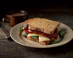 Gluten Free Warm Chorizo and Manchego Sandwich | Newburn Bakehouse