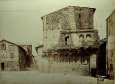 Foto storiche di Roma - Casa dei Crescenzi