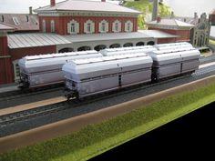 Märklin 46262 - Onderlosser met klapdekseldak Tad-u 961 van de Deutsche Bahn AG.
