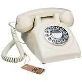 Buy GPO 1970's Retro Push Button Dialling Phone, Ivory online at John Lewis