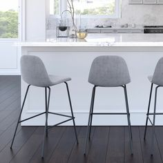 Kitchen Stools With Back, Counter Stools With Backs, Modern Counter Stools, White Bar Stools, Stools For Kitchen Island, Swivel Counter Stools, Bar Counter, Best Bar Stools, Kitchen Counter Chairs