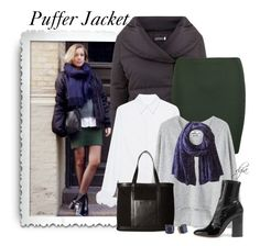 """Puffer Jacket"" by dgia ❤ liked on Polyvore featuring Mint Velvet, Boohoo, Victoria, Victoria Beckham, MANGO, San Diego Hat Co., SOREL, Valentino and Kate Spade"