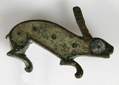 Brooch in the Form of a Rabbit. Roman (probably Britain or Gaul), 100-300.