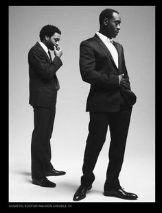 Don Cheadle and Chiwetel Ejiofor in Esquire. Yes.