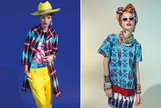 Stella Jean Spring 2014  - The Stella Jean Spring 2014 collections is just as merry and print-focused as ever. Probably having been a mixologist of sorts in another life, the...