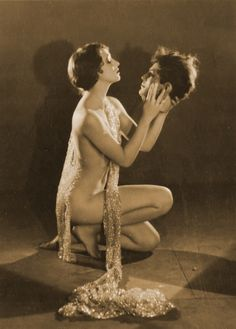 Kathryn Stanley as Salome c.1926 , photo by Edwin Hesser
