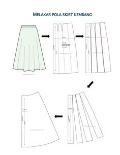 Pola skirt kembang Full Skirts, Fashion Sewing, Ball Gowns, Sewing Patterns, Designers, Profile, Boutique, Clothes, Dresses