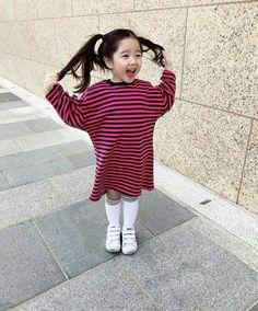 Best of kids fashion Vintage Kids Fashion, Cute Kids Fashion, Baby Girl Fashion, Fashion Children, Fashion Fall, Cute Asian Babies, Asian Kids, Cute Babies, Korean Baby Girl