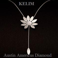 Sterling Silver pendant  at Austin Americus Diamond.   www.austindiamond.com
