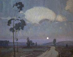 Night Brings Good Counsel by Eric Bowman Oil ~ 16 x 20 Nocturne, Landscape Art, Landscape Paintings, Painting Inspiration, Art Inspo, Moonlight Painting, California Art, Renaissance Art, Art Club